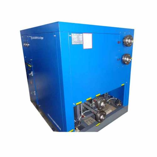 industrial electric refrigerated air compressed dryer for portable compressor