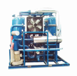 Desiccant wheel 3 in one dehumidifier with hopper dryer
