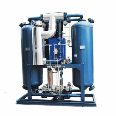 The best choice blower heat twin tower regenerative desiccant compressed air dryer