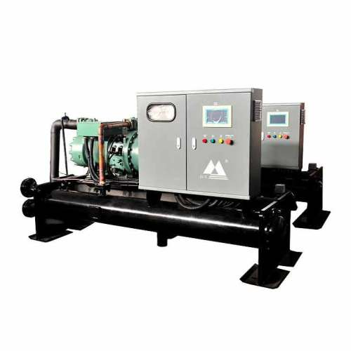 flooded chiller/flooded water cooled screw water chiller applied in comfortable centre air conditioning system (Single Compressor/ 7 Deg C)