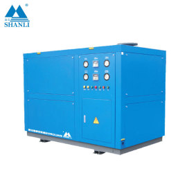 Cheapest Type Water Cooled Scroll Flooded Screw Chiller (Single Compressor/ 7 Deg C)