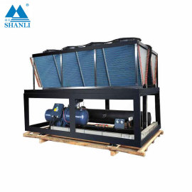 Water Cooled Flooded Water Chiller/Heat Pump  (Single Compressor/ 7 Deg C)