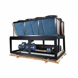 Heavy Duty China CE Certificated imported compressor water cooled flooded type chiller (Single Compressor/ 7 Deg C)