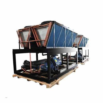 Flooded water cooled screw chiller for production line (Single Compressor/ 7 Deg C)