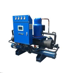 High Efficiency water Cooled Screw Water Chiller (single compressor/ -5 Deg C)