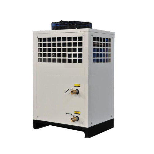 Water-cooled water chiller  with a single closed-loop design