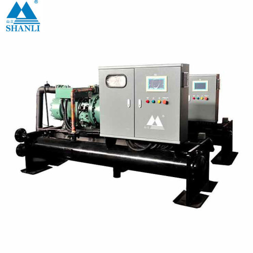 High efficiency industrial scroll water chiller used for plastic machine cooling