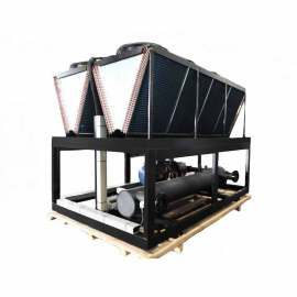 Water cooling refrigerated scroll type chiller