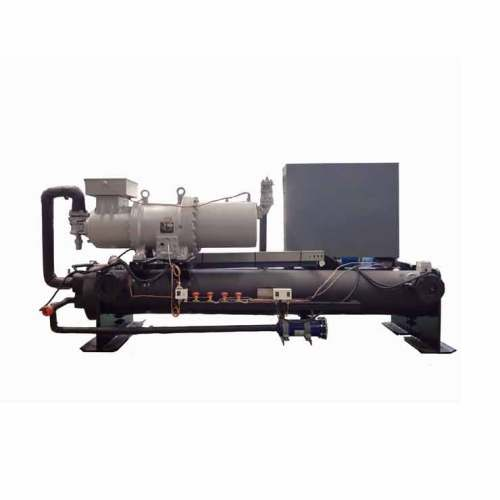 CE single compressor industrial water cooled box type chiller