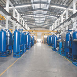 Low Dew Point Heated Compressed Air Drying Equipment