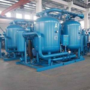 100% modular desiccant air dryer small flow capacity