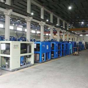Aluminum Plate Refrigerated dryers with Pressure and temperature monitoring