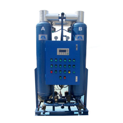 Exported quality regenerative dryer heatless desiccant air dryer for compressed air system