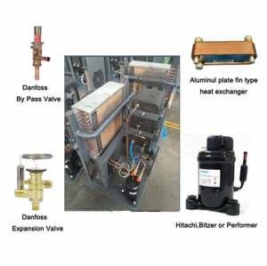 high pressure air compressor refrigerated compressed air dryer