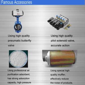 Fusheng Regenerative air dryer For Screw Air Compressor