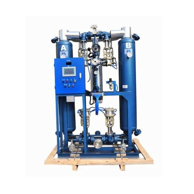 industrial compressed heated adsorption desiccant air dryer