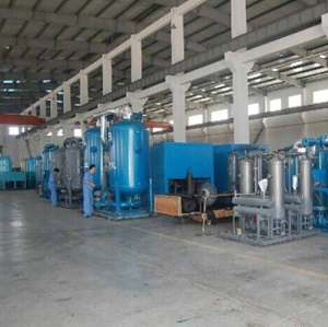 good efficiency heated Desiccant Air Dryer with silica gel white