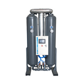 Blower purge adsorption air dryer