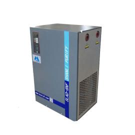 Air cooled refrigerated compressor dryer