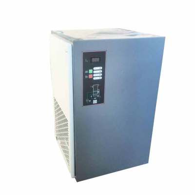 Refrigerated air compressor air dryer for screw air compressor