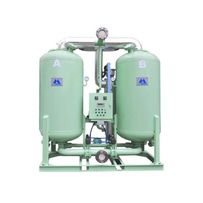 reasonable heater design Heated desiccant air dryer