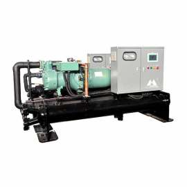 scroll water-cooled chiller manufacturer , water chiller, block, tube, cube, flake, cube ice machine