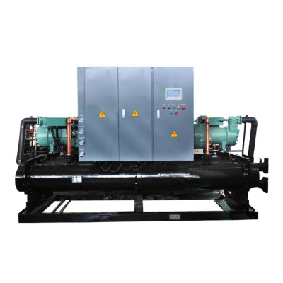 low temperature water-cooled chiller price for food processing
