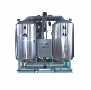 Shanli Blower heated desiccant air dryer with zero purge consumption