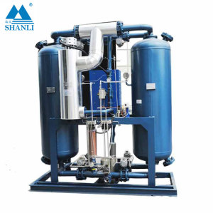 The best choice blower heat twin tower regenerative desiccant compressed air dryer (with air consumption)