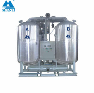 Shanli SDXG series blower heated desiccant air dryer with gas consumption SDXG-10