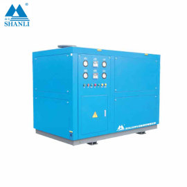 Hangzhou Shanli portable Box Type Air cooled  Concrete Cooling Chiller SCLF-15-Z-X (-5℃)