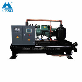 Full hydraulic chiller Box Type Air Cooled Water Chiller For Cooling (7℃)