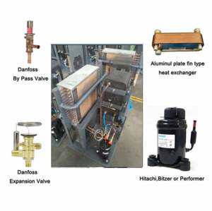freeze dry machine/av power source and stationary configuration compressed air freeze dryer