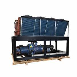 air cooled water chiller with famous brands parts