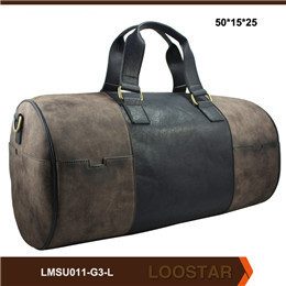 2016 New Style Tourist Leather Men  Bag  Luggage Bag Holdall Travel Men Bag