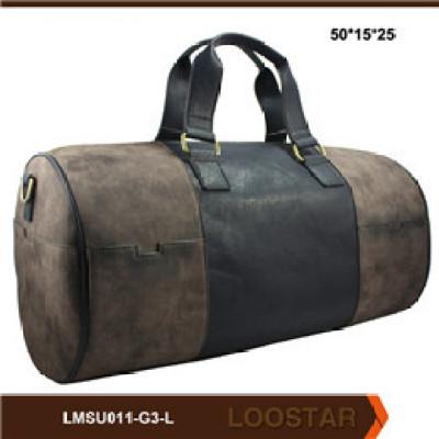 2016 New Style Tourist Leather Men  Bag  Luggage Bag Holdall Travel Men Bag