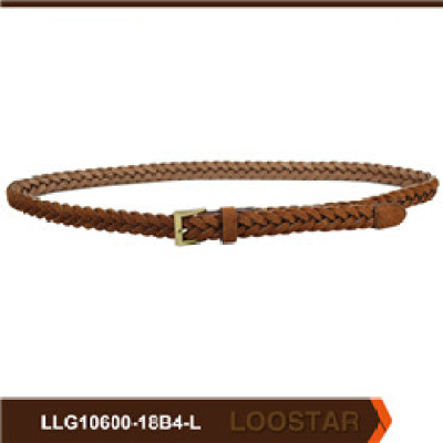 Fashion Women  Leather Weave Belt  braided belt  PU Leather  belts for Women