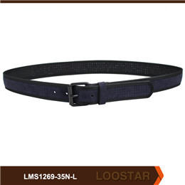 Men Punch out  Belts Fashion  PU Leather   Waist   Belts For Sale