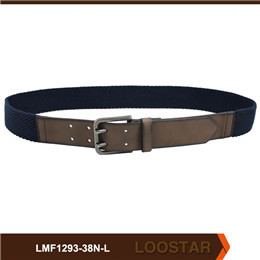 Fashion Men Flat  Belts Fabric  and PU  Leather Belts Waist  Belts  For Sale