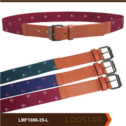 Wholesale Men PU  Leather Belts Emboss Belts  For Sale