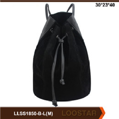 2016 New Style  Fashion Women Bags Leather Lady Bucket Bag  Casual women  backpack For Sale