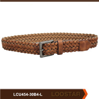 Good Quality Fashion  Children braided belt  PU Leather  belts  For Sale