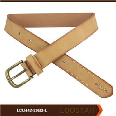 2016 New PU Leather  belts  Children Flat  belt  Teens Belts for Clothing Manufacturer
