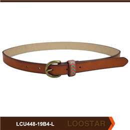 Fashion Children Waist Belts Hot Selling PU Leather  Children skinny Belts For Sale