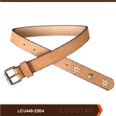 2016 New Fashion Children Waist Belts  PU Leather  Children Stitched Belts For Teens