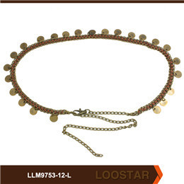 Fashion Women Studded Belts Ladies Chain belts Wholesaler