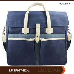 Hot Sale Fabric Men Briefcase