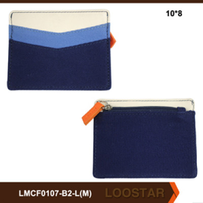 2017 best selling men for fashion canvas wallet