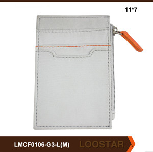 Wholesale Handmade Custom Logo Leather Wallets for Young Men China Manufacturer
