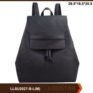 New Design Lady Backpack PU Woman Bag